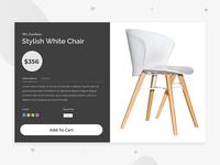 Stylish Wooden White Furniture