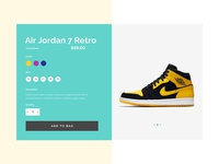 E-commerce Shoes Single Page