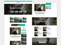 Free Professional Magazine Blog PSD Template