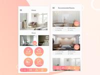 Hotel Booking App UI Design