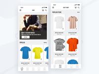 Ecommerce App UI Design in Sketch Free