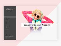 Creative Design Agency Website Design