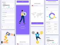 Crypto Currency App UI