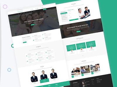 Insurance Website Design web ux design web ui design ui ux design ux design ui design web psd web design insurance