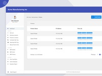 Material Design HR Management