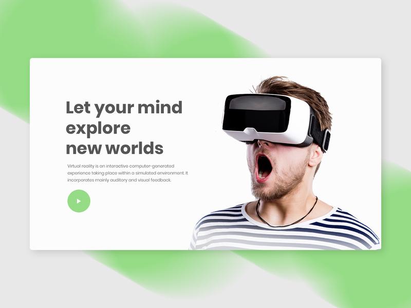 Virtual Reality - VR user interface design user experience design user interface web design ui ux ux design ui design vr virtual reality