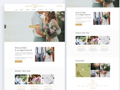 Wedding Management Wesbite Design user experience design user interface design ui ux ux design ui design web design wedding weeding website