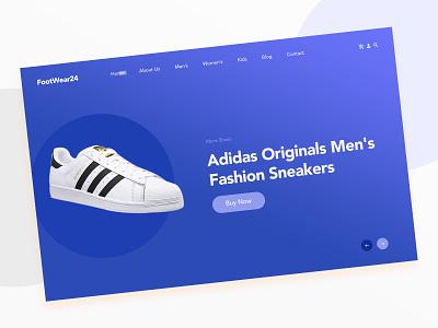 Ecommerce Website Header Design user interface design ui  ux design web design ecommerce ecommerce shop ecommerce design
