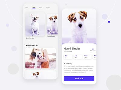 Pet Adoption App cat dog animal user experience user interface onboarding animal app pet care animal app ui cat app dog app pet adoption pet app