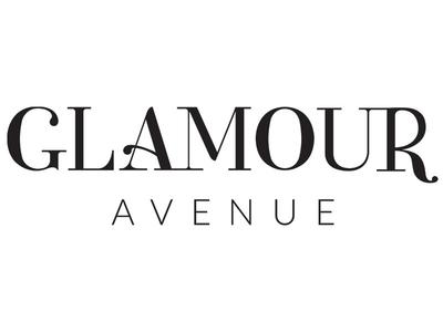 Glamour Avenue Wordmark salon glamour lettered lettering serif logo wordmark