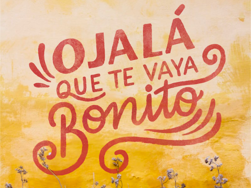 Que Te Vaya Bonito By Adriana Quiroga On Dribbble