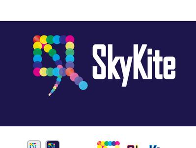 SkyKite logo branding - kite logo business card design flyer designs modern logo branding new logo design logo design 2019-2020 creative skykite logo design modern skykite logo modern logo design creative logo illustration logo design branding kite logo skykite logo branding skykite logo