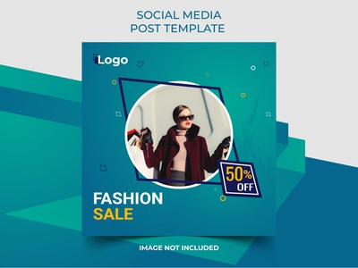 New Fashion Sale Offer Social Media Post vector Template banner templates banner set banner designs analysis advertising advertise advert ads ad banners model bussiness abstrack banner arrival template post media sale fashion new