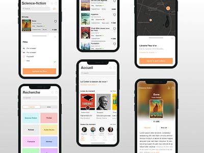 Book app dribbble userinterface ios book app uxdesign ux ui shot uidesign design