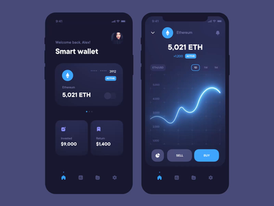 Cryptocyrrency wallet application money transfer financial money app finance app cryptocurrency graphic bitcoin ethereum crypto exchange coins money crypto wallet crypto application mobile app interface design ux ui