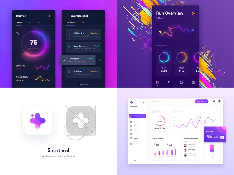 #Top4Shots 2018 best design interface top4shots ux ui
