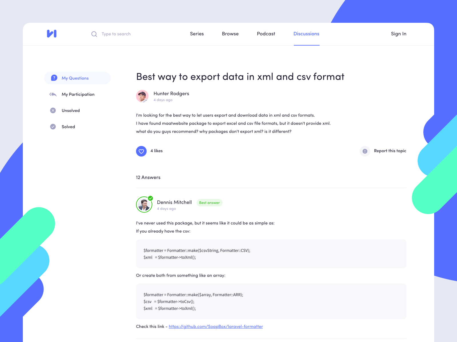 Dribbble - forumthread-dribbble png by Alex Arutuynov 🤟