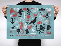 Barbary Coast dingbats