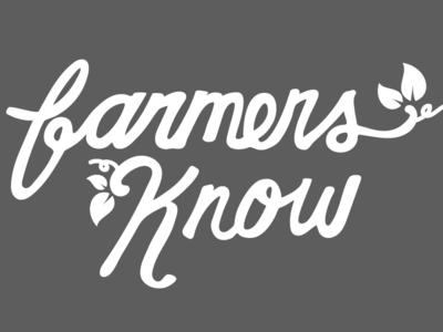 Farmers know logo