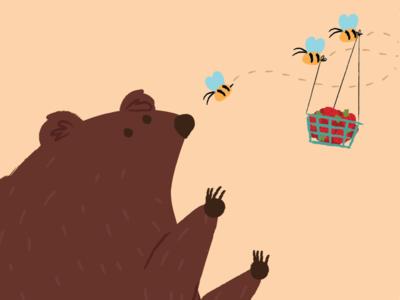 Honey Bear goes Vegan?