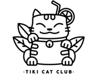 Tiki Cat Club logo