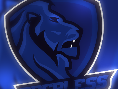Peerless Logo esports logo sports mascot lion