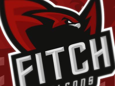 Fitch Falcons mascot falcon