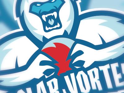 Polar Vortex Dodgeball Logo