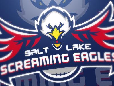Screaming Eagles screaming eagles mascot logo football screaming eagle