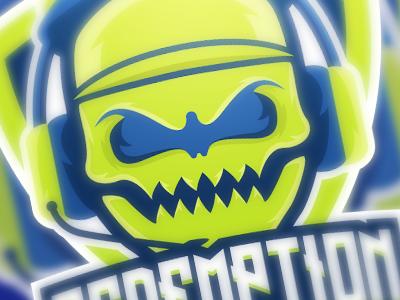 Redemption Logo gaming esports logo sports mascot skull