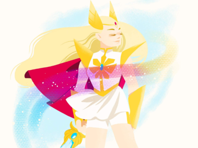 Sketch daily Nov 30th - She-Ra