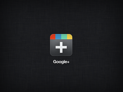 Google+ iPad google plus ipad icon