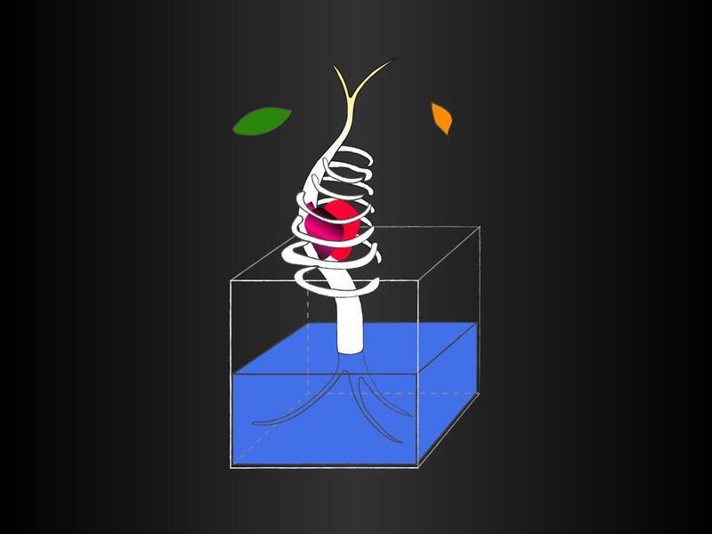 Fear of Death design illustration animation minimal web ui vector rikaotsuka flat editorialillustration