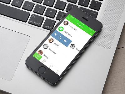 Line App ui