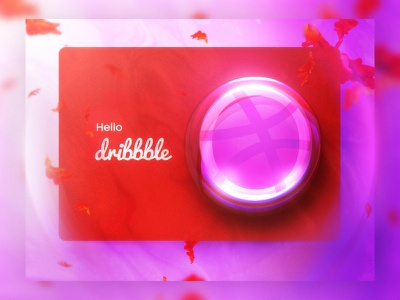 Hello Dribbble! hello illustraion first shot hi digital art hello dribbble
