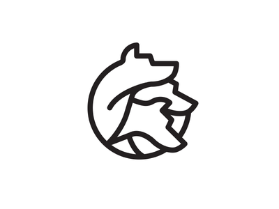 Cerberus iconography illustration cerberus vox media identity branding vox advertising project aquarium dog greek mythology
