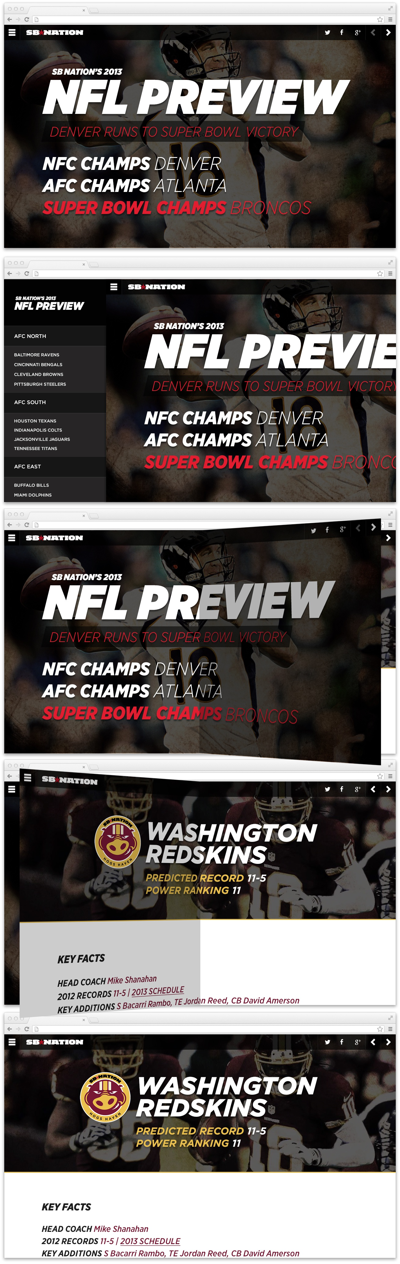 Nfl feature attachment