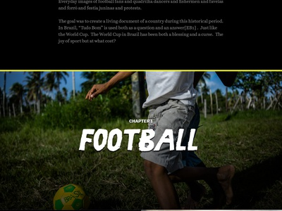 Life in Brazil brazil world cup photo essay feature vox media vox life unrest soccer