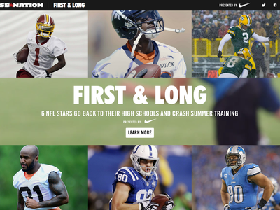 First & Long vox media sb nation vox creative vox product football nfl nike sponsored content video documentary