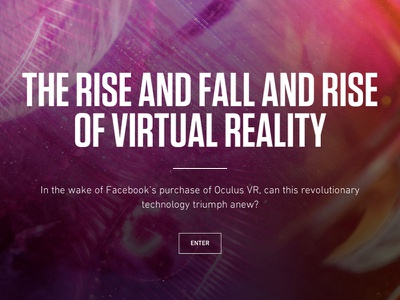 Virtual Reality - The Verge vox media editorial app the verge vox product virtual reality