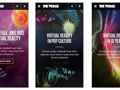 VR - Mobile Cover Mocks vox media rwd the verge virtual realtiy mobile