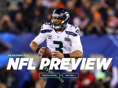 SB Nation's 2014 NFL Preview vox media sb nation football sports seatle seahawks nfl