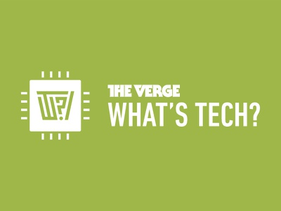 The Verge: What's Tech? itunes vox media the verge technology podcast explainer branding microchip