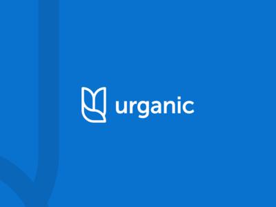 Urganic ™ logo