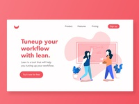 Lean - Home page