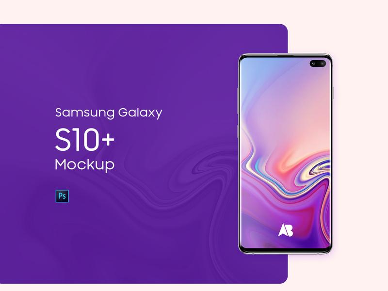 Free Samsung Galaxy S10+ Mockup download free mockup s10 samsung galaxy s10 samsung galaxy samsung