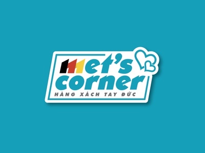 Met's Corner logo by Brandall Agency flat shipping germany vector illustration brandall logo design design adobe illustrator branding logo