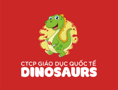 Dinosaurs Education logo by Brandall Agency edu park jurassic world jurassicworld jurassic park jurassic green baby kids dino dinosaur drawing chibi dragon education dinosaurs brandall logo logodesign branding