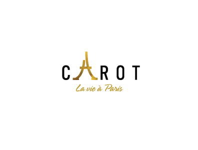 Carot Lavie à Paris logo fashion character paris branding brandall logo design logo