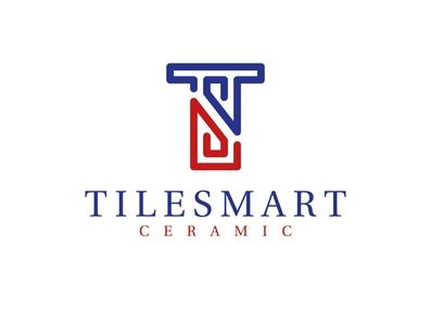 Tilesmart Ceramic logo by Brandall Agency cera mart tiles tile marbles marble symbol rocks rock granite ceramics ceramic illustration logo design logo branding